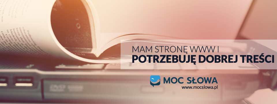 You are currently viewing MAM STRONĘ WWW I POTRZEBUJĘ DOBREJ TREŚCI
