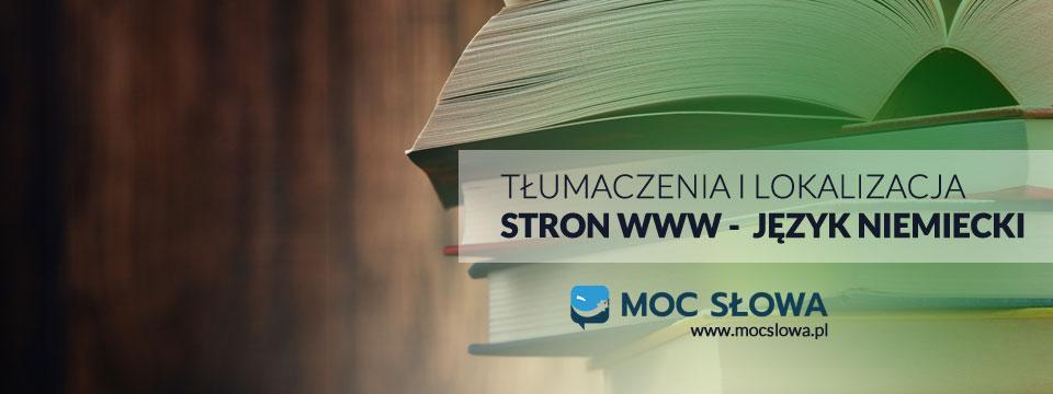 You are currently viewing TŁUMACZENIA I LOKALIZACJA STRON WWW JĘZYK NIEMIECKI